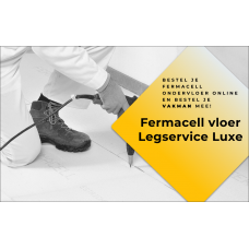 Fermacell vloer Legservice Luxe