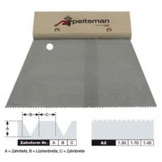 Kitstrijker voor PVC Lijm 18cm a2 Fijn