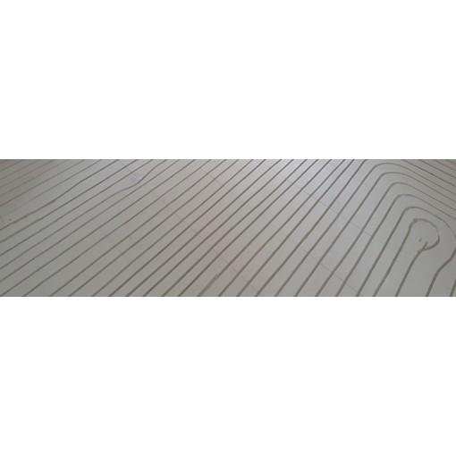 Infrezen Vloerverwarming in Fermacell vloer