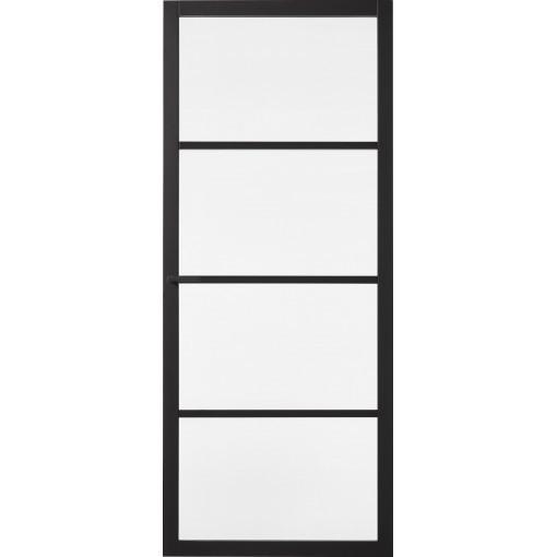 Binnendeur Skantrae Slimseries SSL 4004 Zwart