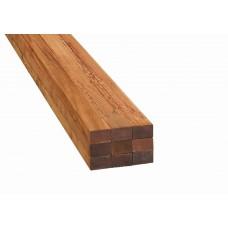 Hardhout Onderregel voor Terrasplank 45x70mm