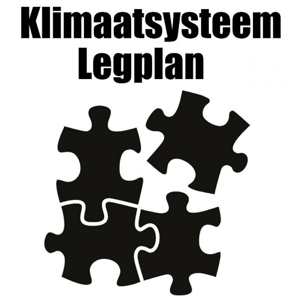 Klimaatsysteem Legplan voor Zelfmontage