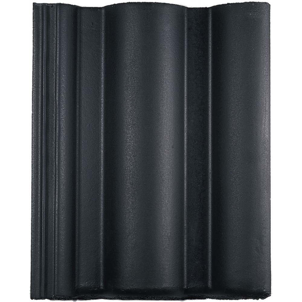 Monier Neroma betonpan Nero/zwart glazuron