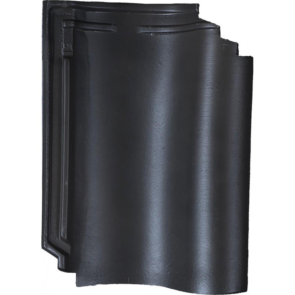Monier dakpan OVH206 Zwart glazura engobe