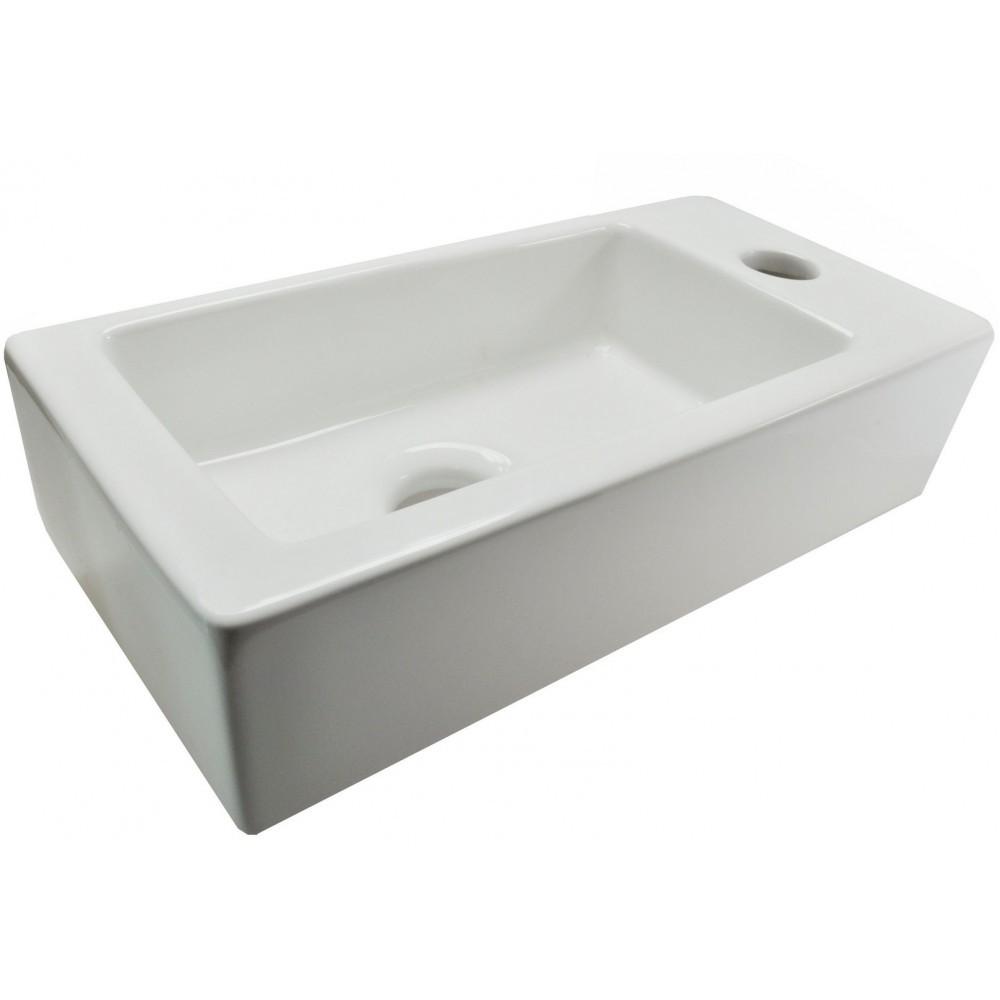 Mini Fontein Toilet.Wiesbaden Mini Rhea Fontein Rechts 360x180x90 Wit Laagste Prijs