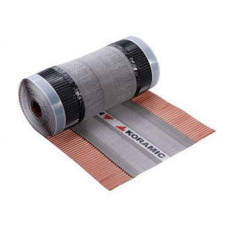 Koramic Flexirol antraciet 320mm 5m