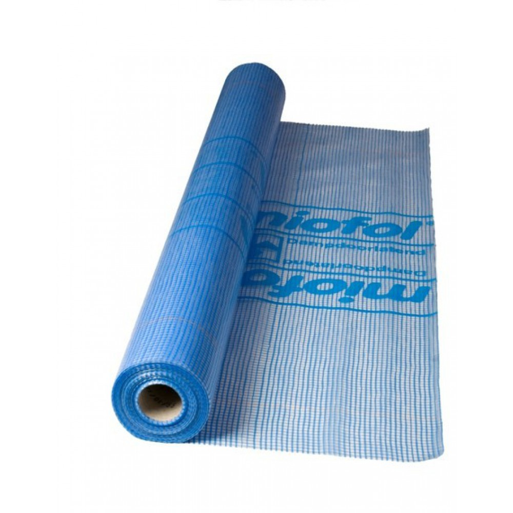 Geperforeerde Rubber Mat.Miofol Folie 125g 1 5x50mtr Dampdoorlatende Bouwfolie Snel Geleverd