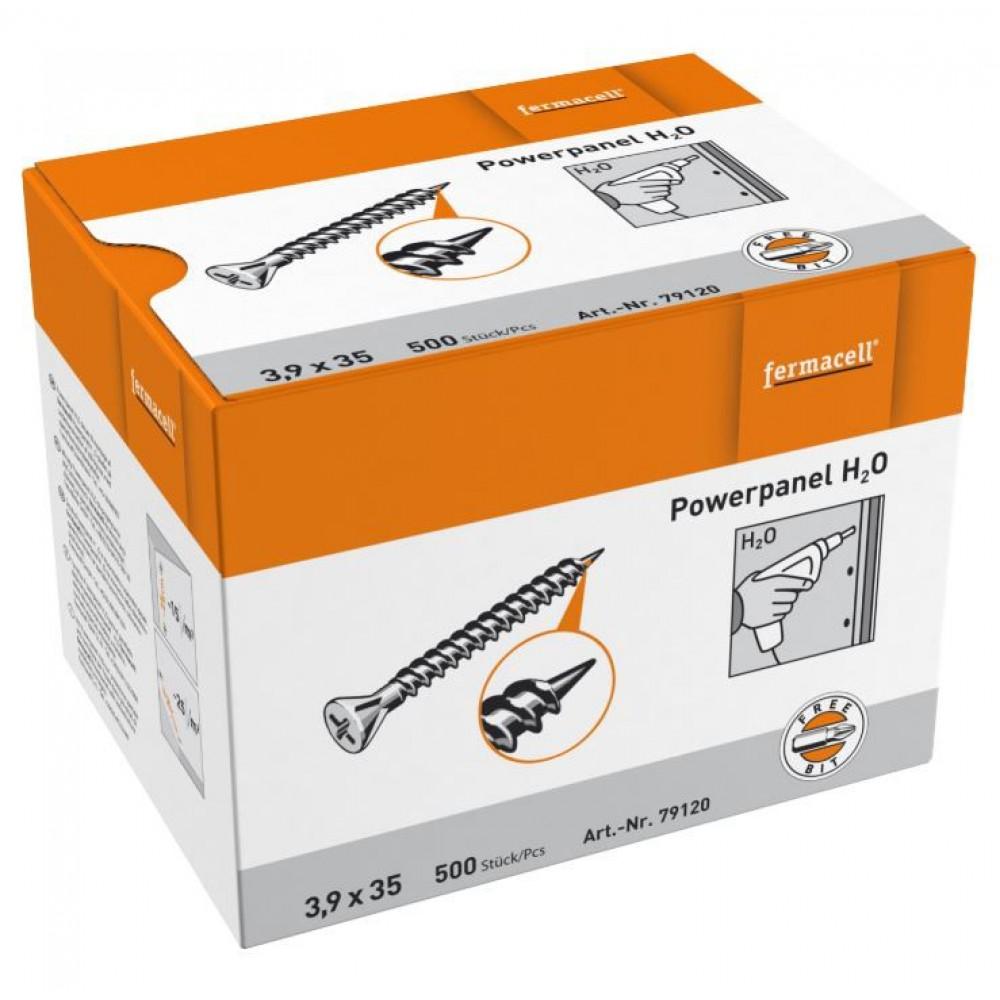 fermacell powerpanel h2o schroeven 500st online kopen. Black Bedroom Furniture Sets. Home Design Ideas
