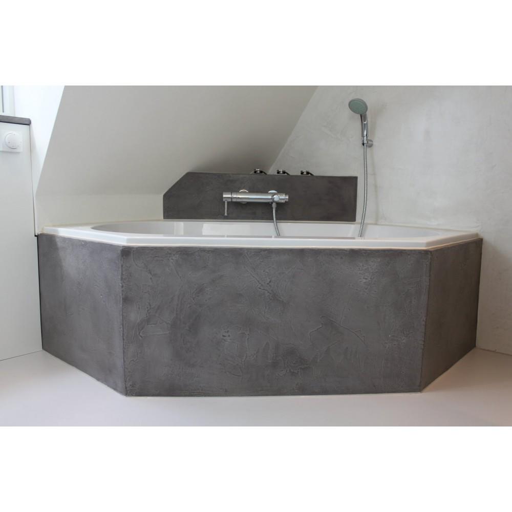 Beton Ciré Xtra doucheset - waterdichte set voor je badkamer ...