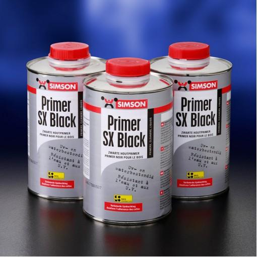 Simson primer SX zwart blik 1L