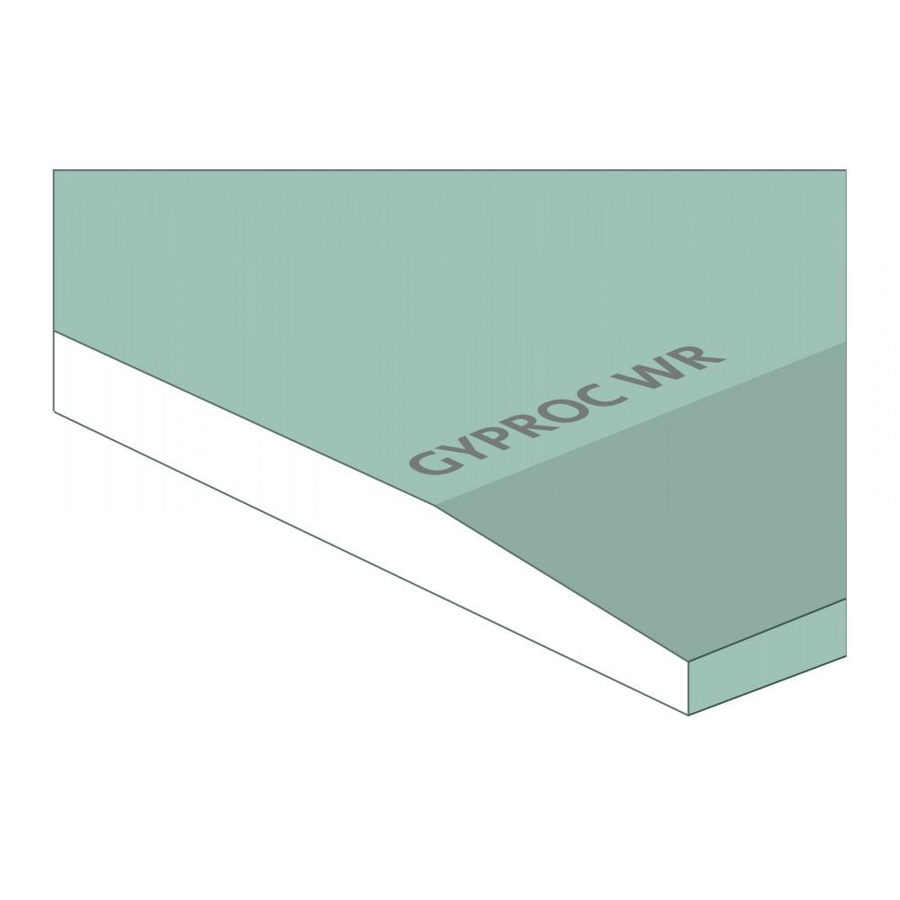 Gyproc WR Vochtwerende Gipsplaat 2600x1200x12.5mm - Gipsplaten voor ...