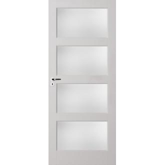 Binnendeur Skantrae Essence E035 incl. blank glas 211.5x93cm Opdek Links